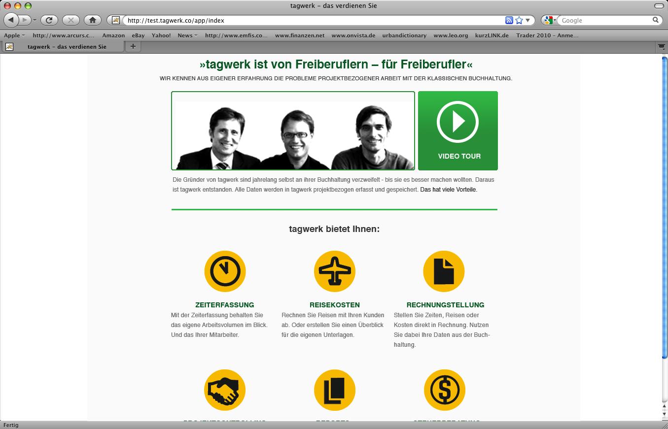 Funktionsüberblick über Icons